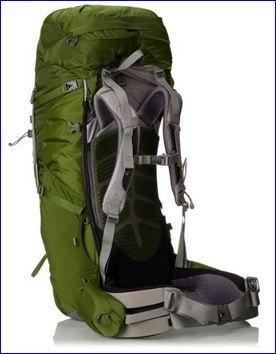 Osprey Aether 70 Pack: suspension.