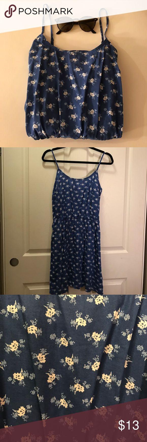 Cami Blue and White Dress Cami Blue and White Dress Old Navy Dresses Midi