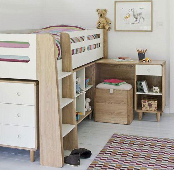 elegant single children beds frames with storage