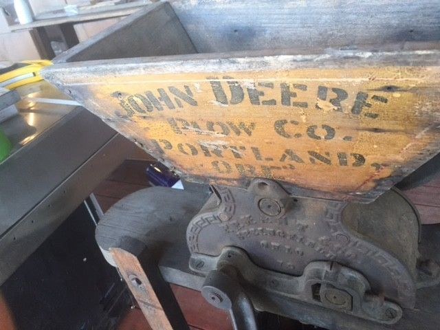 Antique Wine Press/Cider Press John Deere Plow Co. Portland OR