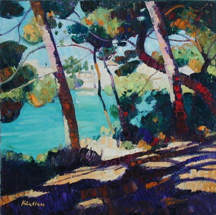 John KINGSLEY - Baie des Fossettes, Cap Ferrat