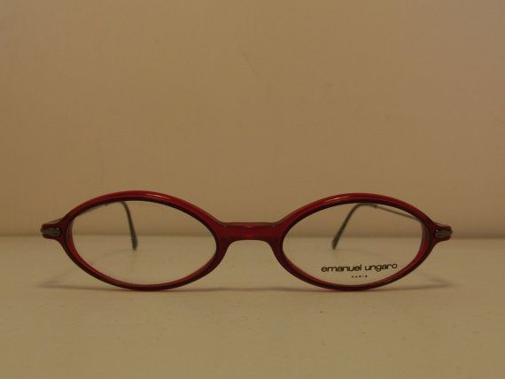 Emanuel Ungaro Paris Tiny Slight  Vintage eyewear by giogiovintage