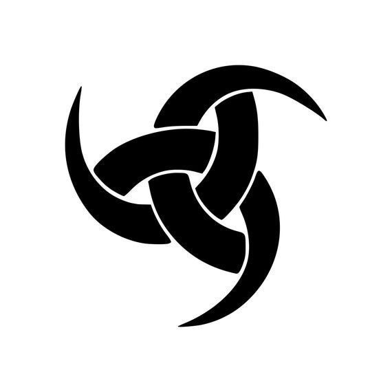WEB OF WYRD Rough vinyl sticker Norse THOR ASATRU Viking Fate Odinist Skulds Net