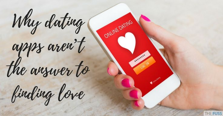 New research reveals why dating apps like Tinder aren't the answer to finding love, as most users aren't looking for a relationship