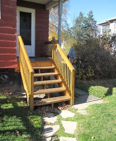 11 best Exterior Stairs images on Pinterest | Outside stairs ...