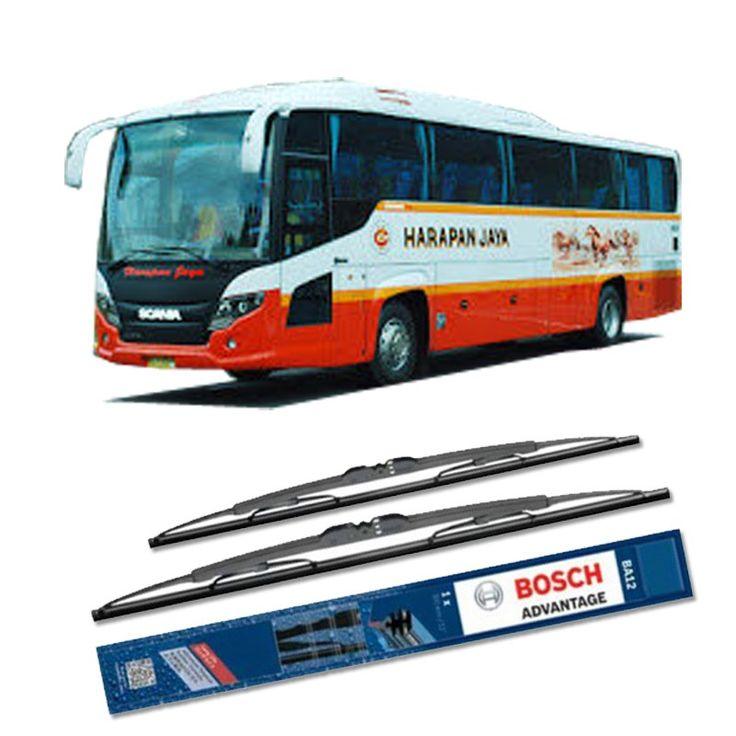 """Bosch Sepasang Wiper Kaca Mobil Mobil Bus/Bis Tipe Scorpion King Advantage 28"""" & 28"""" - 2 Buah/Set  Umur Pakai & Daya Tahan Lebih Lama Penyapuan kaca yang senyap Performa Sapuan Optimal Instalasi Mudah & Cepat Original Produk Bosch  http://klikonderdil.com/with-frame/1192-bosch-sepasang-wiper-kaca-mobil-mobil-busbis-tipe-scorpion-king-advantage-28-28-2-buahset.html  #bosch #wiper #jualwiper #bisscorpion"""