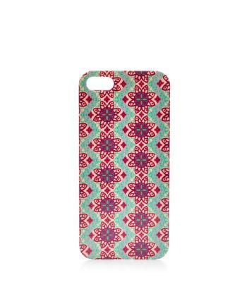 New Look Green Tile Print iPhone 5 Case #accessories #covetme