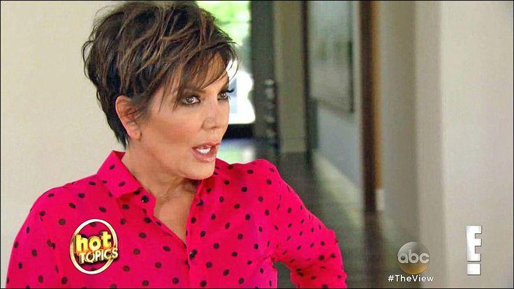 Kris Jenner Haircut Back View