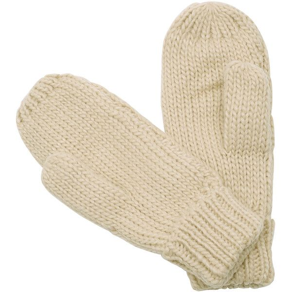 Beige Cable Knit Gloves ($6.99) ❤ liked on Polyvore featuring accessories, gloves, beige gloves and cable knit gloves