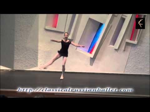 """I am a ballerina"", Victoria Fedorova, Russian ballerina"