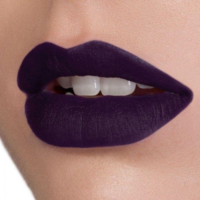 labios purpura oscuro maquillaje tutorial