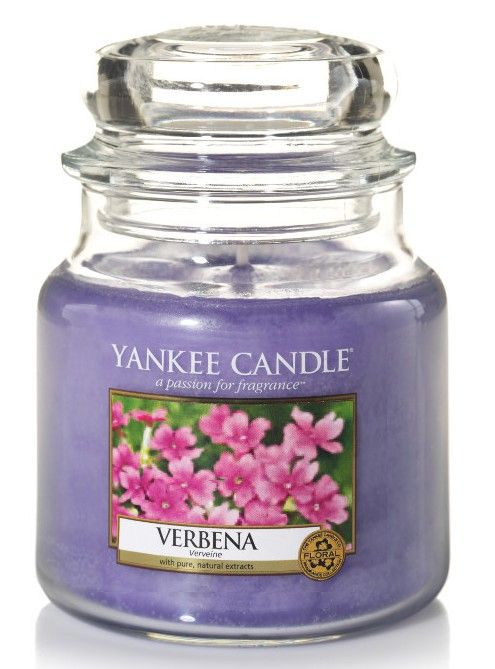 Vervaine - Bougie moyenne jarre - Yankee Candle boutique