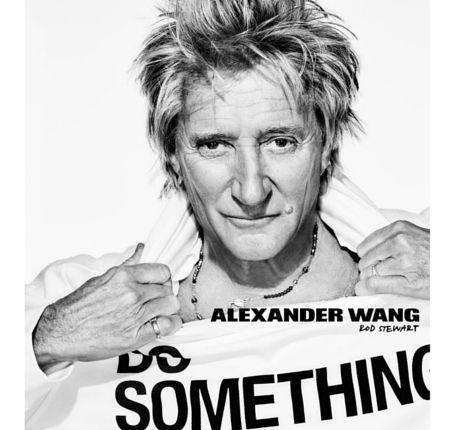 Kampania Alexander Wang x DOSOMETHING z gwiazdami, Rod Stewart