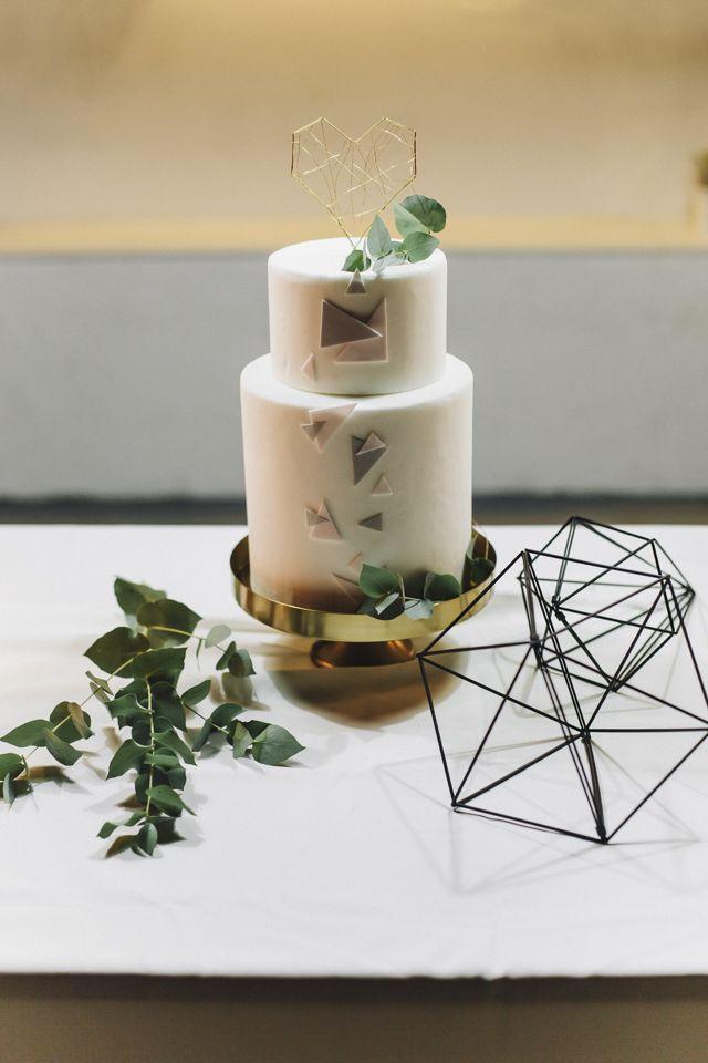 Urban Geometric Chic Heiraten mit Spartipps von Jane Weber   Hochzeitsblog - The Little Wedding Corner