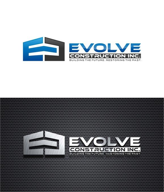 Create A Capturing Modern Construction Company Logo for Evolve Construction Inc. by AZK4 99