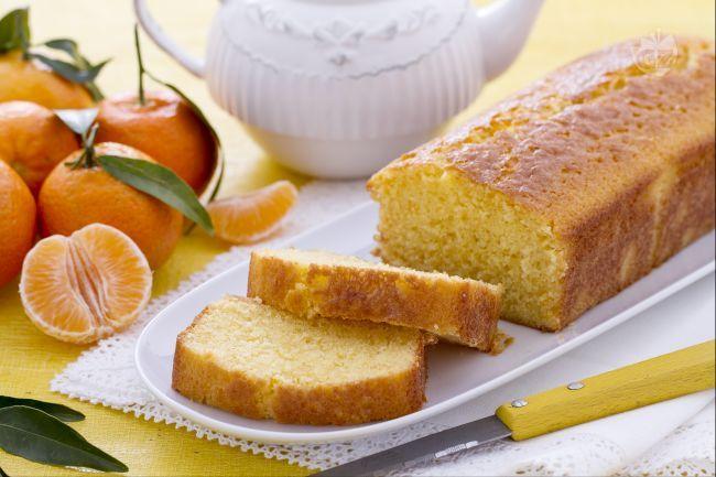 Plumcake mandarino.molto buono . Da provare con mezza bustina lievito