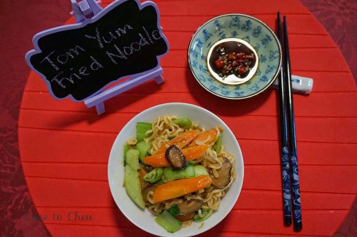 Love to Cheu: Tom Yum Fried Noodles
