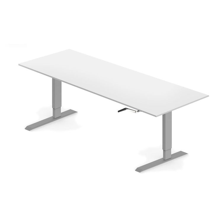 Elevar Manual Height Adjustable Desk - 1800 x 750mm