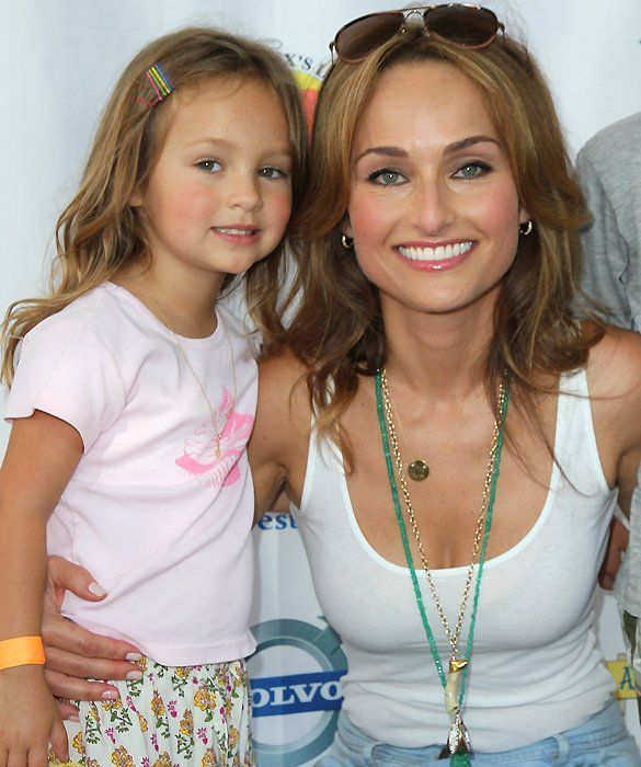 Gotta love this beautiful little girl!  Mama is Giada, and the resemblance is wonderful!