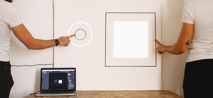 Learn how to do Projection Mapping with the Touch Board and create your own interactive graphics.  #design