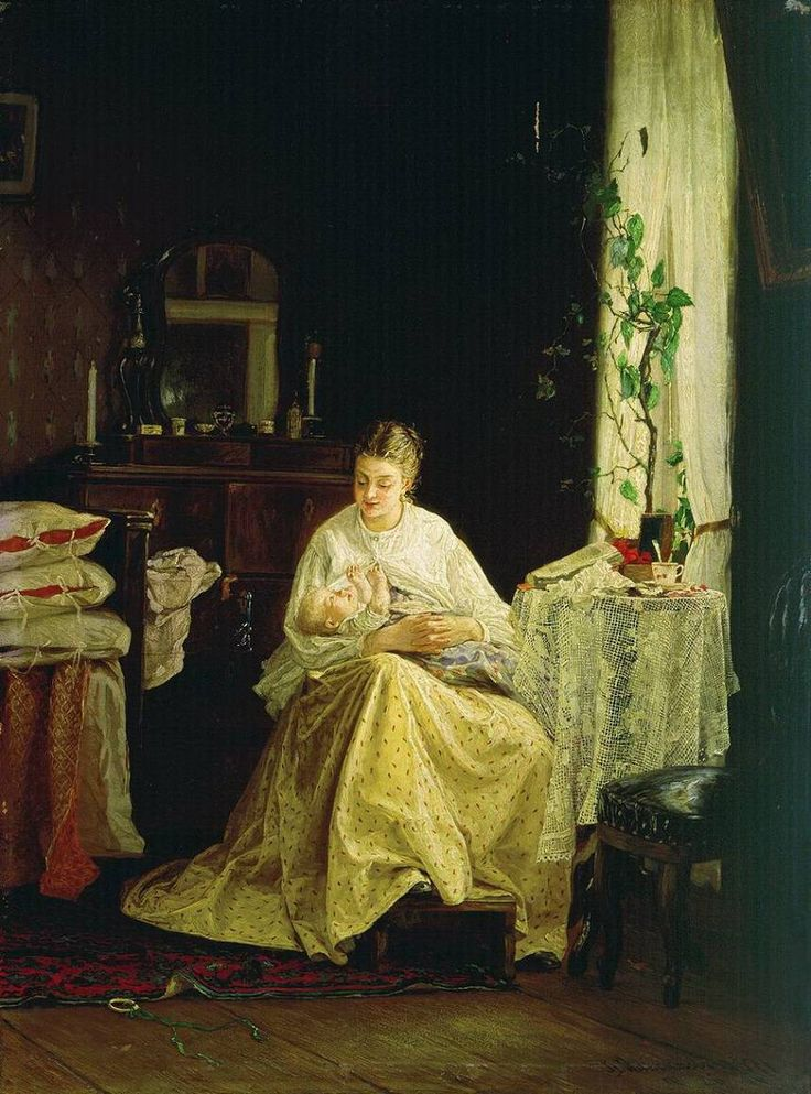 Максимов. Материнство.1871 год