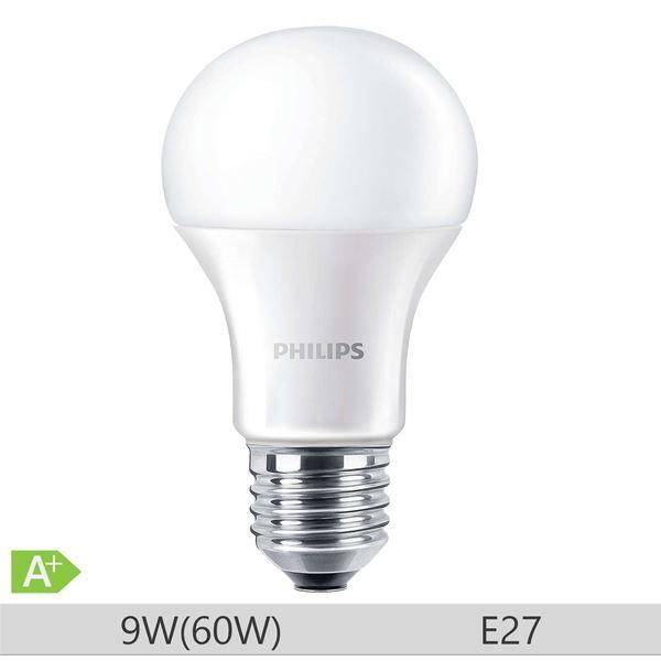 Bec LED Philips 9W E27 A60 806lm lumina calda http://www.etbm.ro/becuri-led