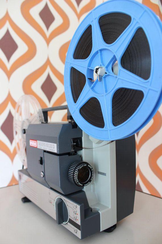 Eumig 502d vintage retro super 8mm standard 8 by RetroVisionUK