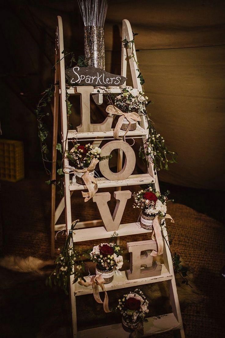 Rustikale Hochzeitsdekoration   – Meine hochzeit