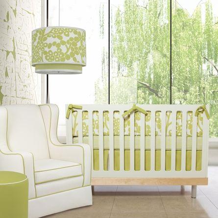 Green Baby Bedding Sets