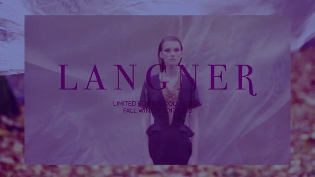 Langner LIMITED EDITION COLLECTION FALL WINTER 2012 / 2013 by Bien. www.langner-fashion.com