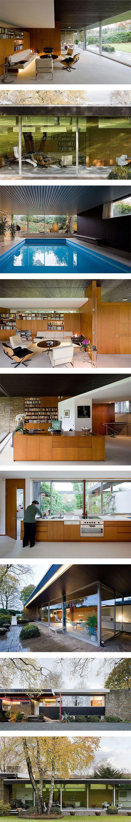 Pescher House by Richard Neutra featuring Furniture on Nuji.com #pescherhouse #richardneutra #architecture
