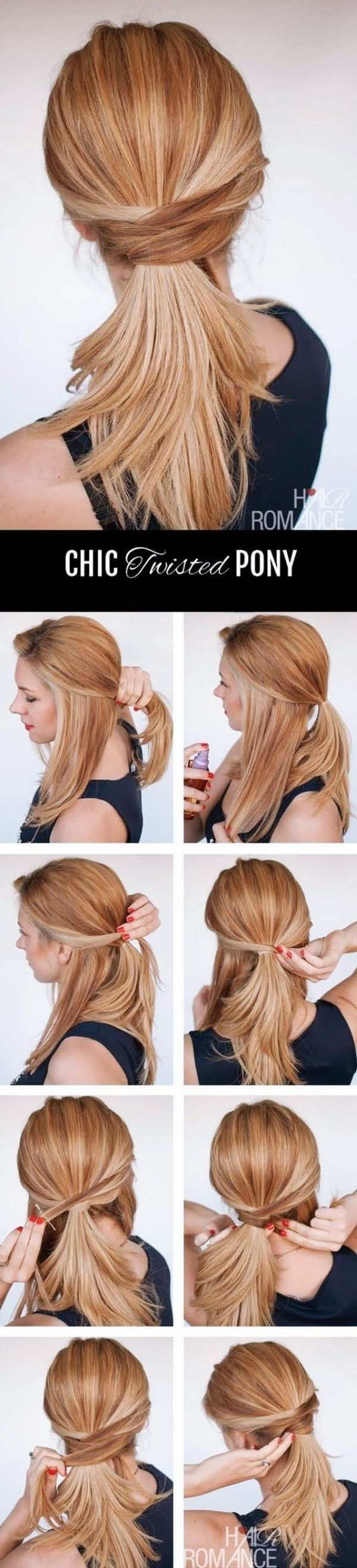 Hairstyles-That-Can-be-Done-in-3-Minutes