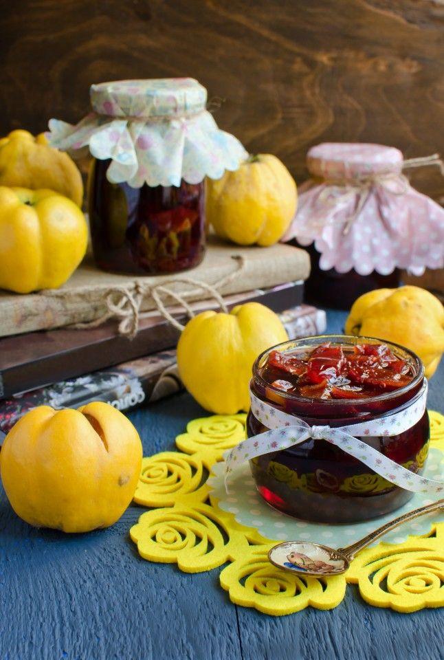 Сезон айвы: 2 конфитюра » Рецепты » Кулинарный журнал Насти Понедельник. Кулинарные рецепты с фото.