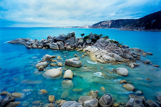 This looks like absolute heaven!  Wilson's Promontory Victoria..  Fairy Cove