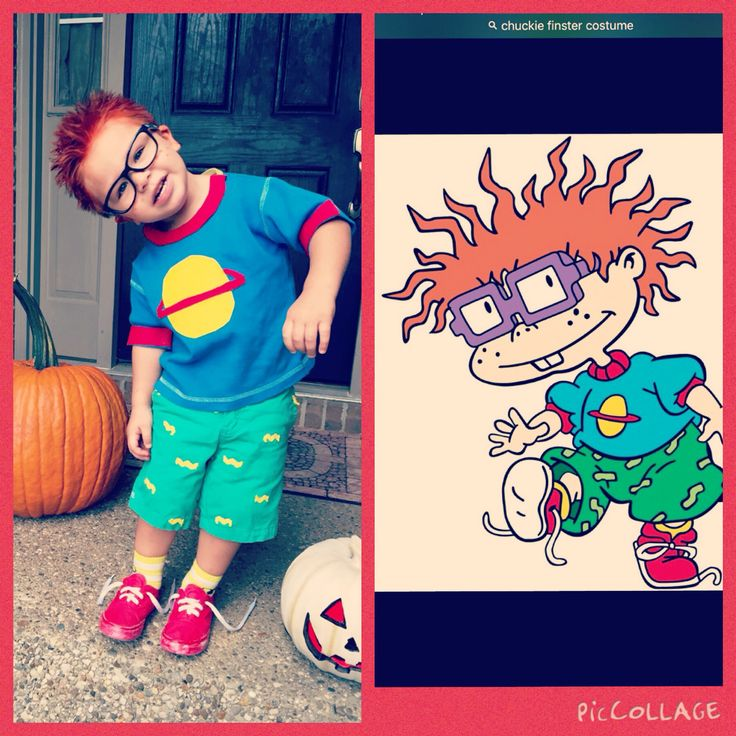 Chucky Finster rugrat costume