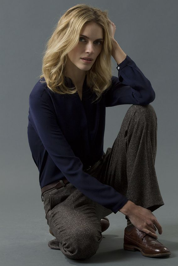 shirt hazel pant miranda FW 15-16 collection by QL2 www.quelle2.it #fashion, #women, #apparel