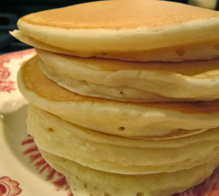 Classic American Pancakes (with or without buttermilk)! Perfect for Mardi Gras, Shrove Tuesday, or Pancake Day!  Dinner Night: Happy Pancake Day!