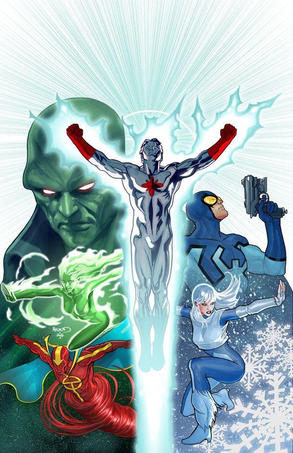 CONVERGENCE : Justice League International #1 by PaulRenaud.deviantart.com on @DeviantArt
