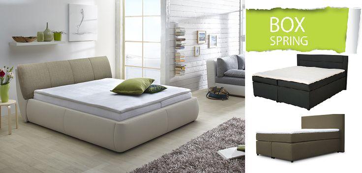 Není nad to si lehnout do postele, relaxovat s knihou nebo jen tak podřimovat...postele BOXSPRING jsou pro to jako dělané. Tak pohodlné, že v nich budete chtít trávit celé dny.  Inspirujte se ve SCONTO Nábytku!