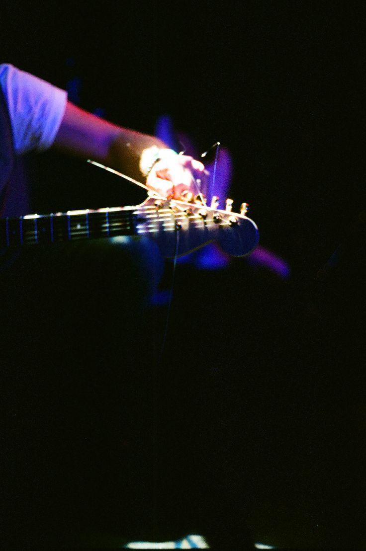Guitar tunning dark and light. Live music, London. www.acebros.co.uk