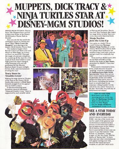 From the Tickle Trunk – Walt Disney World News 1990 (All Ears ...