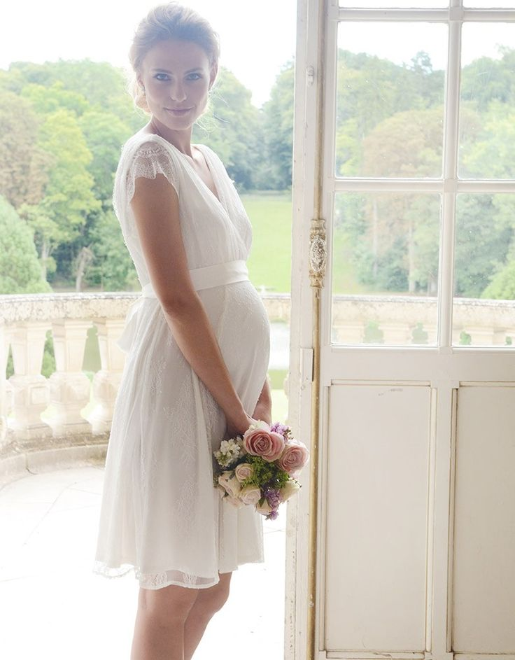Lace Maternity Wedding Dress | Seraphine