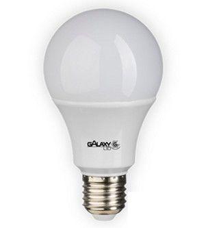 LAMPADA BULBO LED 9W 3000K (LUZ AMARELA) 803LM CERTIFICADA