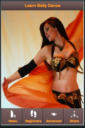 BELLY DANCE FOR BEGINNERSInterested in learning Belly Dance? The Belly Dance for Beginners app shows you belly dance videos and costume ideas to get your well on your way to becoming a amazing belly dancer.Belly dancing also known as middle-eastern dance or Arabic dance has become popular and more widely known from the attention arresting belly dance performances in restaurants, cabarets, public dance performances, and television and movies. The exotic costumes worn by belly dancers du...