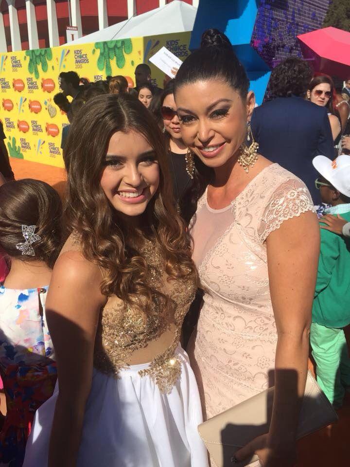 Kira and Kalani at the kca's 2015.