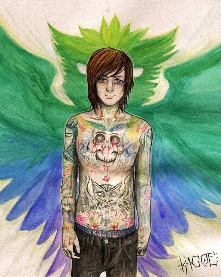 Mitch Lucker : Owl Tattoo by Kagoe.deviantart.com on @deviantART