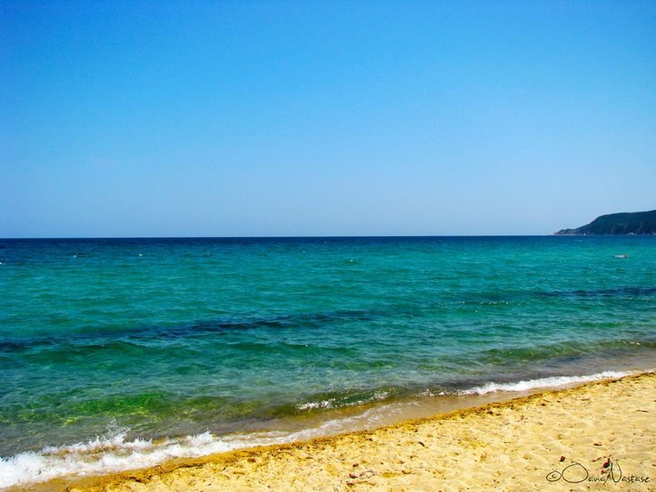 Ελλάδα (Greece), Halkidiki,  Sithonia, Sarti, beach, sun, sea