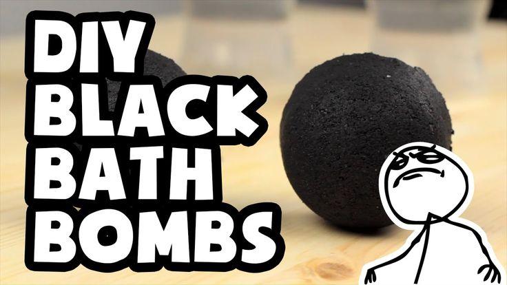 DIY Darkest Black Bath Bombs Ever - Do It Like a Boss