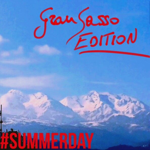 #summerday #gransasso