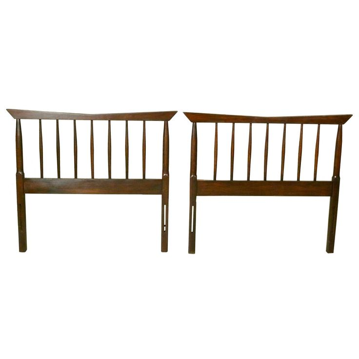 Pair of Single Headboards by Paul McCobb for Directional 1